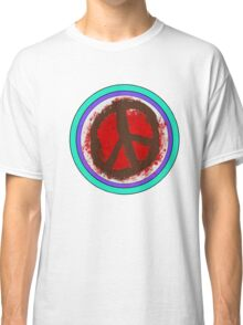 Psychocell Rustic Peace Classic T-Shirt