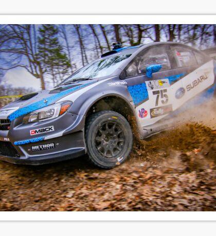 Subaru STI Rally Car Sticker