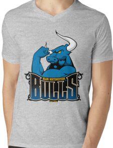 Miami Northwestern Bulls Mens V-Neck T-Shirt