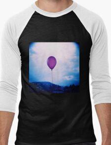 purple happiness Men's Baseball ¾ T-Shirt