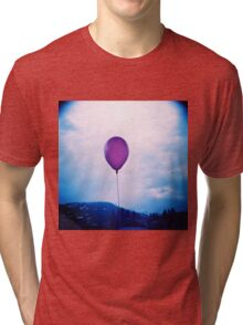 purple happiness Tri-blend T-Shirt