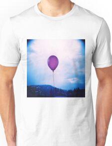 purple happiness Unisex T-Shirt
