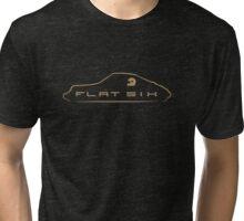 Porsche 911 Flat Six Tri-blend T-Shirt