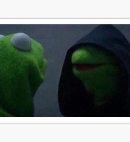 The Inner Me - Meme (Kermit) Sticker