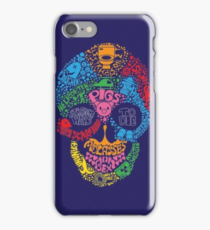 A Graphic Death iPhone Case/Skin