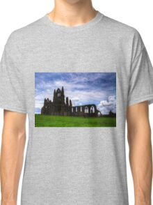 Whitby Abbey Ruin Classic T-Shirt