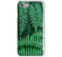 Dark tropical Leaves iPhone Case/Skin