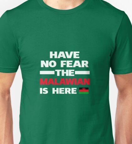 No Fear Malawian Is Here Malawi Pride Unisex T-Shirt
