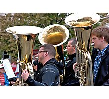 Brass Notes Photographic Print