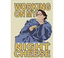 Liz Lemon - Night cheese Photographic Print