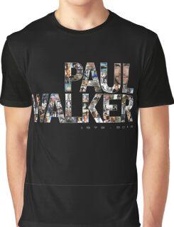 Paul Walker 2 Graphic T-Shirt