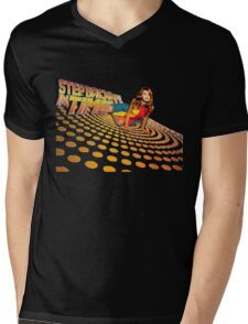 Kylie Minogue - Step Back In Time - Retro Mens V-Neck T-Shirt