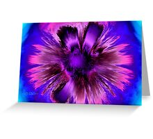 FLOWER SPLASH Greeting Card