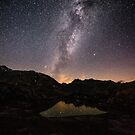 Nightscape at Grimselpass by peterwey