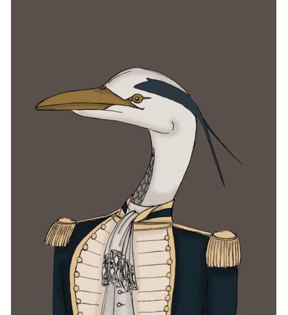 Royal Navy Heron Sticker