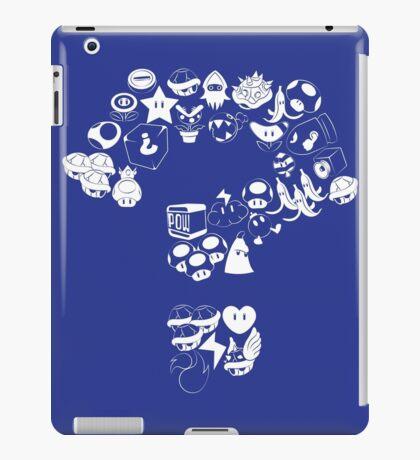 Item Block iPad Case/Skin