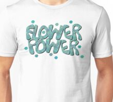Floral Riot - Blue Wash Unisex T-Shirt