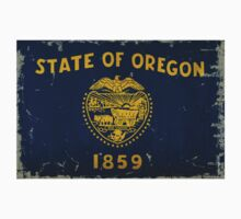 Oregon State Flag VINTAGE by USAswagg2