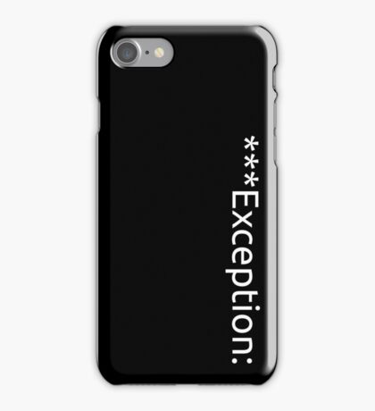 Exceptional iPhone Case/Skin