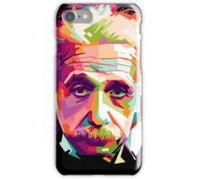 Albert Einstein Genius Space Cosmos Galaxy Universe iPhone Case/Skin