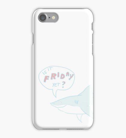 Friday Shark iPhone Case/Skin