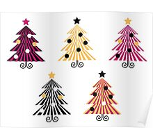 New trees in shop : Magical xmas collection Poster