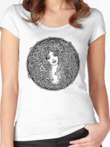 Eternal Beauty Women's Fitted Scoop T-Shirt