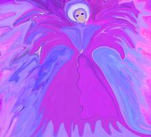 I am The Angel Of Flowers/ dedicated to Marie Sharp by Sherri     Nicholas