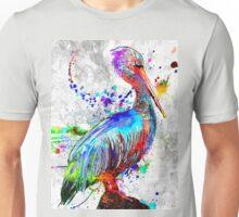 Pelican Grunge Unisex T-Shirt
