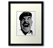 BatterySergeant-Major Williams Framed Print