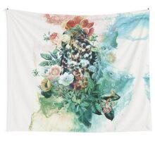 Bird in Flowers Tenture murale