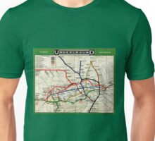 Map - London Underground Map - 1908 Unisex T-Shirt