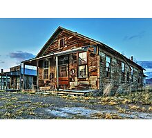 The Old Wendel General Store Photographic Print