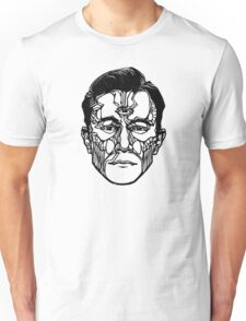 """""""Joseph Gordon-Levitt"""" Woodcut (Hollywooden) Unisex T-Shirt"""