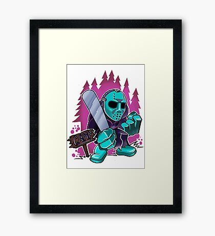 Camp Killer Framed Print