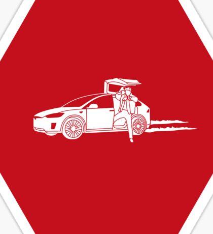 Marty X #SFSF Sticker