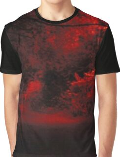Red nature Graphic T-Shirt