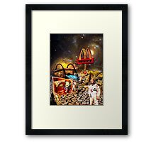 Who ~ When ~ How ~ and Why? Framed Print