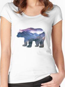 Rocky Mountains Women's Fitted Scoop T-Shirt
