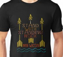 I stand with standing rock, MNI WICONI shirt Unisex T-Shirt