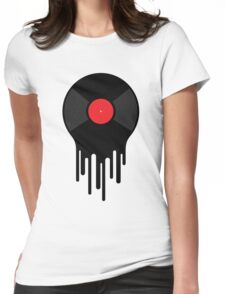 Liquid Sound Womens Fitted T-Shirt