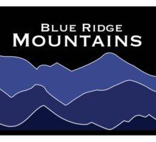 Blue Ridge Mountains Hexagon Sticker