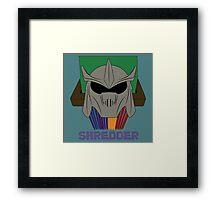SHREDDER.  Framed Print