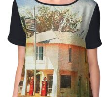 The original Lucille's Roadhouse Chiffon Top