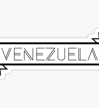 Venezuela Ribbon Sticker