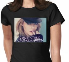 Emma Stone Womens Fitted T-Shirt