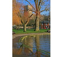 Christchurch Quay and Priory Photographic Print