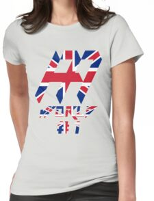 British Andy Murray best world tennis player Womens Fitted T-Shirt