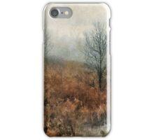 foggy landscape iPhone Case/Skin
