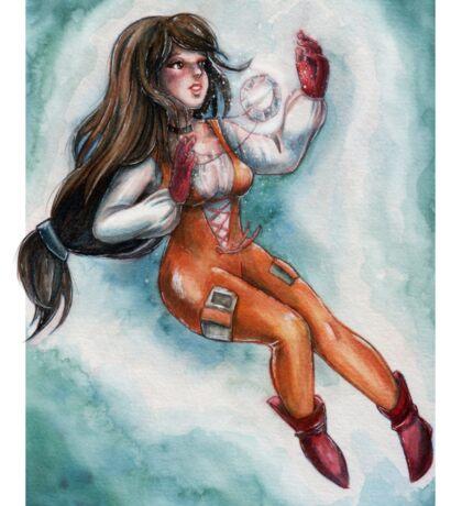 FF9 - Princess Garnet of Alexandria Sticker